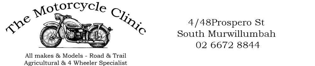The Motorcycle Clinic Logo